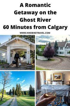 A romantic getaway to The Crossing on the Ghost River, justt 60 minutes from Calgary Honeymoon Getaways, Spring Song, Ontario Travel, Atlantic Canada, Visit Canada, Banff National Park, Romantic Getaway, Canada Travel, Calgary