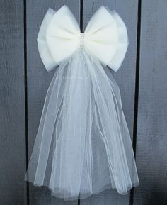 Small Tulle Bling Bow, Many Colors Available