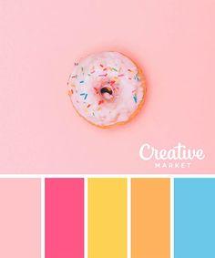 15组夏天配色方案!让你设计拥有夏日的味道~ | 设计达人