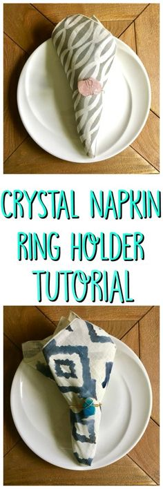 Crystal Napkin Ring Tutorial - Crafty Little Gnome