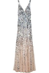 Rachel Gilbert  giselle degrade sequined gown This is absolutely gorgeous
