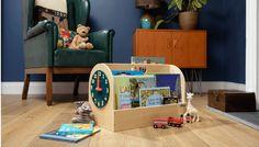 Boîte à livres Tidy Books. Très esthétique et adaptée à votre enfant, elle lui fera découvrir de nouvelles aventures grâce à la lecture !