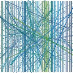 Cascade Deconstructed (Line Series), Carl Yoshihara