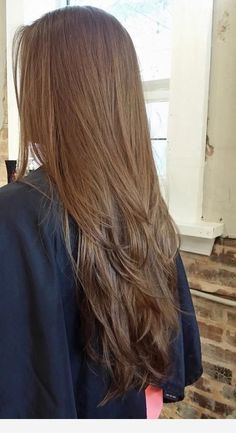 33 Adorable Dyed Hair Ideas For Brunettes To Try Asap Long Layered Hair Straight adorable ASAP brunettes Dyed Hair ideas layersforlonghair Haircuts Straight Hair, Long Hair Cuts, Haircut Long, Long Layered Hair, Layered Lob, Layers For Long Hair, Lob Hairstyle, Brunette Hair, Hair Highlights