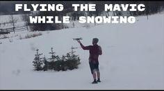 DJI MAVIC PRO | FLYING IN SNOW TEST