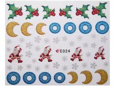 Condividi i nostri prodotti avrai uno sconto del 5 %,fai sapere che ci sei Nail Sticker Natale mod024 #originalnail