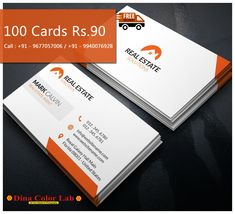 Visiting Card Printing, Business Cards Online, It Is Finished