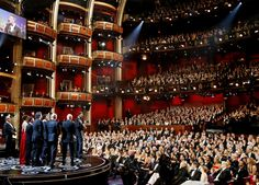 """The cast and crew of Best Picture """"Argo"""" at the 85th Academy Awards, 2013"""