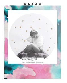 """""""[Cosmogyral]"""" by arkaena ❤ liked on Polyvore featuring art, Group and kpop"""