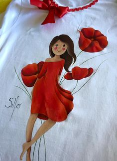 Pin by Abiageal Bree on home Dress Painting, Fabric Painting, Fabric Art, Fabric Design, Fabric Paint Shirt, Paint Shirts, How To Dye Fabric, Painted Canvas Bags, Painted Clothes