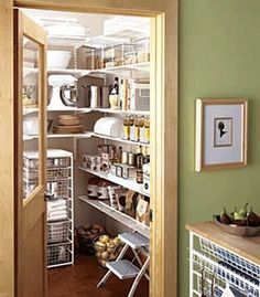 Coveting... And thinking, how can I do this?  pantry-kitchen-storage-organization-shelves-solutions-ideas