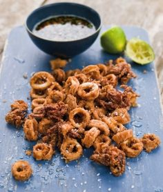 Crispy Five-Fragrance Calamari & Dipping Sauce | Williams-Sonoma Taste