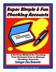 A simple and fun way to teach students how to manage a checking account. This booklet comes with complete instructions on implementing my very simple, no-fuss system.  The streamlined method I devised creates very little extra work for the teacher/banker.