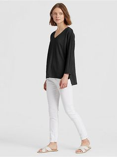 769fb03eeb8 Tops + Tees. V Neck TopsCasual LooksStitch Fix. WHITE ...