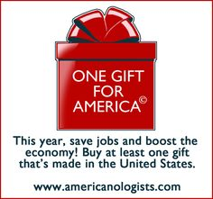 The Americanologists - One Gift for America: Make the Commitment. This site is dedicated to American Made Products