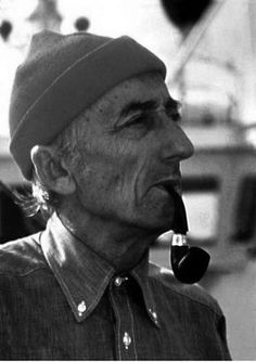 Jacques Cousteau, Zissou-Style Pipe Smoker