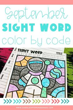 Need some engaging sight word activities this fall? Check out these simple, engaging worksheets to print or use digitally! They're perfect for 1st grade, 2nd grade, or even 3rd grade students. Click the pin to check them out!
