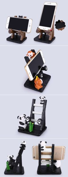 Cell Phone Cases Animal Smartphone Cell Phone Stand Charging Dock Holder - Welcome to the Cell Phone Cases Store, where you'll find great prices on a wide range of different cases for your cell phone (IPhone - Samsung) Cell Phone Hacks, Cell Phone Deals, Diy Phone Case, Iphone Phone Cases, Iphone 8, Animal Phone Cases, Phone Covers, Wood Phone Stand, Cell Phone Stand