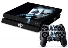 NuoYa005 Jokers Skull Skin Sticker For PS4 Playstation 4 Console+Controller Decal #083 NuoYa http://www.amazon.co.uk/dp/B00KUNVZNI/ref=cm_sw_r_pi_dp_EYW9vb05XR0KD