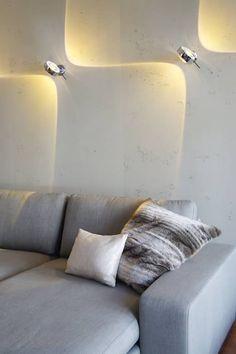 Everything about wall light - Deco Garden-Design Home Lighting Design, Ceiling Light Design, Lighting Concepts, Interior Lighting, Bedside Lighting, Bedroom Lighting, Modern Hanging Lights, Townhouse Designs, House Inside