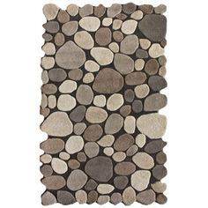 I pinned this Pebbles Rug from the Encore Decor Interior Design + Renovation event at Joss and Main!
