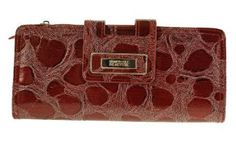 Women's Kenneth Cole Tab Clutch with Strap Red Kenneth Cole. $29.99