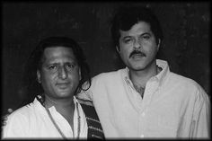 Mr Anil Kapoor And Me During Making of Ladla