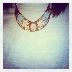 Today`s handmade necklace. :)
