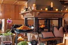 Alpine dinner, Austria, rustic living   Jagdgut Wachtelhof   Hotels Maria Alm…