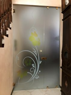 Glass Partition Designs, Glass Design, Wooden Main Door Design, Roof Ceiling, Glass Barn Doors, Puja Room, Small House Design, Profile Design, Ceiling Design