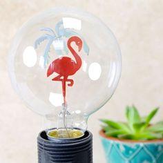Temerity Jones Flamingo Globe Light Bulb