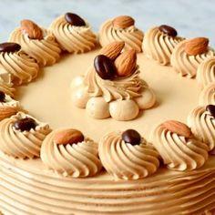 Baking Recipes, Cake Recipes, Dessert Recipes, Lemon Desserts, Food Cakes, No Bake Cookies, Cream Cake, Cakes And More, Cake Decorating