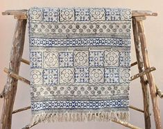Beautiful Indian Home Textiles by JaipurHometextiles on Etsy Anthropologie Rug, West Elm Rug, Affordable Rugs, Handmade Baby Quilts, Area Rugs For Sale, Indian Rugs, Quilted Bedspreads, Cotton Blankets, Throw Rugs