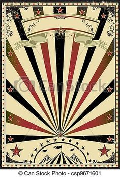 Vintage Carnival Border A Retro Circus Poster For Your Mais