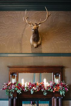 A wildflower-lined aisle, mountain views, and fall leaves made for one crazy beautiful ceremony — and just wait until you see the black-tie reception! Rustic Wedding Details, Elegant Wedding, Winter Wedding Flowers, Autumn Wedding, Wedding Venues, Wedding Photos, Aspen Colorado, Cozy Christmas, Love And Marriage