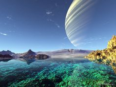 ice planet surface - Google Search