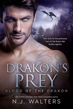 Warrior Woman Winmill: Drakon´s Prey (Blood Of The Drakon #2) by N.J.Walters. Paranormal Romance Release, ARC Review & $15 G.C.Giveaway