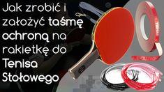 Jak zrobić i założyć taśmę ochroną na rakietkę do tenisa stołowego