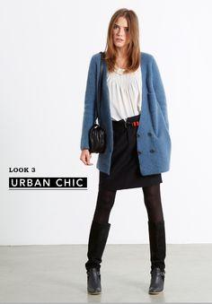 Fashion Lesson : the blue cardi