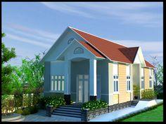 Công ty xây dựng Đức Lộc giới thiệu đến các bạn Mẫu thiết kế nhà cấp 4 đơn giản hiện đại. Mẫu thiết kế này được thiết kế trên lô đất có diện...