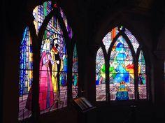 Disneyland Paris stained glass windows