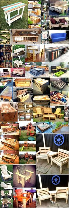 Reusing the used wood pallets is an inexpensive and unique manner to make your surroundings look different and synthetic. Here are some creative and appealing ideas to make your surroundings look natural and delicate.