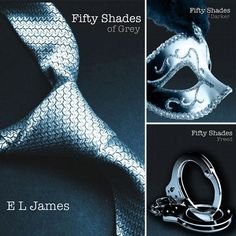Fifty shades of Grey- Steamy reading but oh so likeable characters!