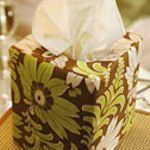 'tis the season... for colds. Boxcover tutorial from canadianliving.com; lots more on http://tipnut.com/tissue-covers/#