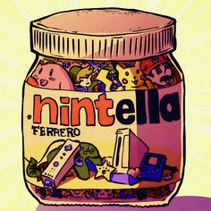 nintella by pocketm0use.deviantart.com on @deviantART