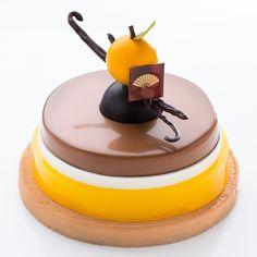 "alexisbouillet - ""Camille"" Yuzu - Ponkan (mandarine) - milk chocolate"