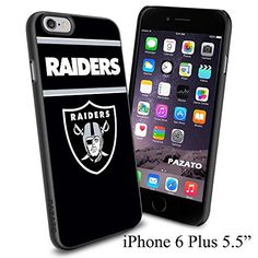 """NFL RAIDERS , Cool iPhone 6 Plus (6+ , 5.5"""") Smartphone Case Cover Collector iphone TPU Rubber Case Black [By NasaCover] NasaCover http://www.amazon.com/dp/B012BCMKWU/ref=cm_sw_r_pi_dp_UVoXvb16P5JVK"""