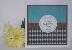 you could use two patterned paper from the same collection, or even 2-sided patterned paper for this one