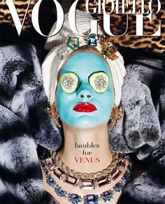"""""""Thirty Years of Golden Dreams""""   Vogue Italy"""