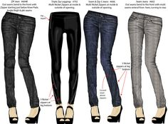 zipper jeans designs by maurice malone